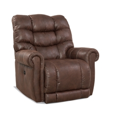 HomeStretch Tank Big & Tall Xtreme Power Wall Saver Recliner in Sable