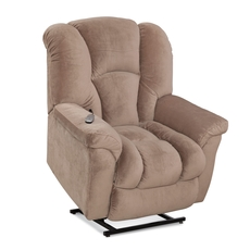 HomeStretch Transformer Lift Recliner in Almond