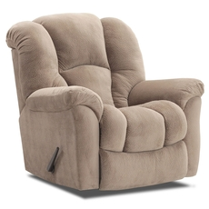 HomeStretch Transformer Rocker Recliner in Almond