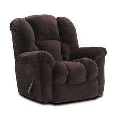 HomeStretch Transformer Rocker Recliner in Espresso