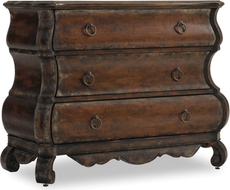 Hooker Furniture 3 Drawer Shaped Chest