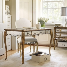 Hooker Furniture Accents Mirrored Writing Desk