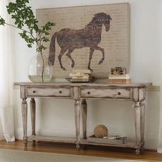 Hooker Furniture Accents 2 Drawer Thin Console