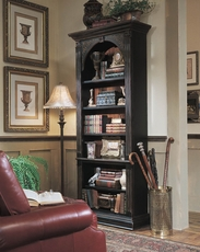 Hooker Furniture Arbor Hill Black Bookcase