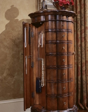 Hooker Furniture Arbor Hill Shaped Jewelry Armoire