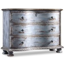 Hooker Furniture Chatelet 3 Drawer Chest in Blue