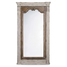 Hooker Furniture Chatelet Floor Mirror with Jewelry Armoire Storage