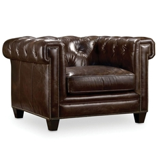 Hooker Furniture Imperial Regal Stationary Leather Chair
