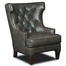Hooker Furniture Maximus Ceremony Leather Club Chair