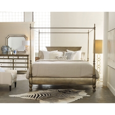 Hooker Furniture Melange Montage King Size Poster Bed