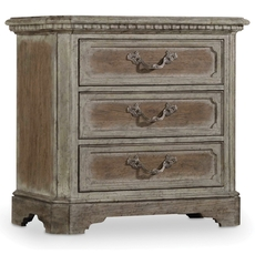 Hooker Furniture True Vintage 3 Drawer Nightstand