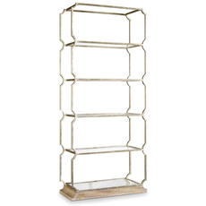 Hooker Furniture Melange Carter Metal Etagere