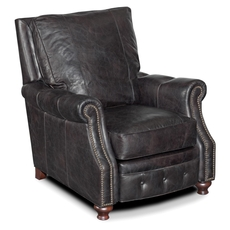 Hooker Furniture Old Saddle Black Recliner Chair