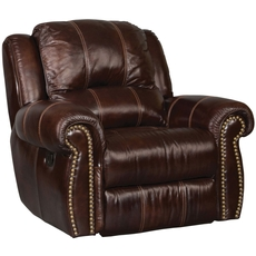 Hooker Furniture Saddle Brown Power Recliner