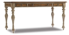 Hooker Furniture Sanctuary 60 Inch Writing Desk in Dune and Beach