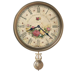 Howard Miller Savanna Botanical VII Wall Clock