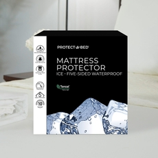 Protect-A-Bed Therm-A-Sleep Ice Split King Mattress Protector