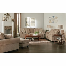 Jackson Avery Loveseat in Putty