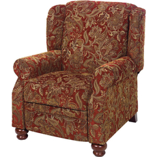 Jackson Belmont Reclining Chair in Red