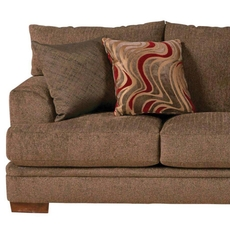 Jackson Crompton Loveseat in Bark and Lava