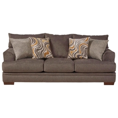 Jackson Crompton Sofa in Pewter and Mellow Yellow