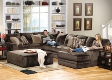 Jackson Everest Sectional in Chocolate - You Choose the Configuration
