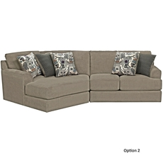 Jackson Malibu Sectional in Taupe - You Choose the Configuration