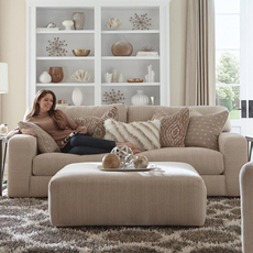 Jackson Serena Loveseat in Oyster