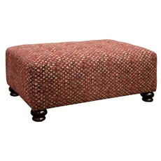 Jackson Southport Cocktail Ottoman in Fireside
