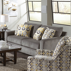 Jackson Sutton Loveseat in Cobblestone