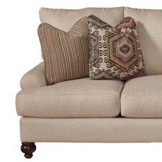 Jackson Platinum Westchester Loveseat in Fiesta and Hemp
