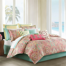 Echo Design Guinevere Full Comforter Set in Coral by JLA Home