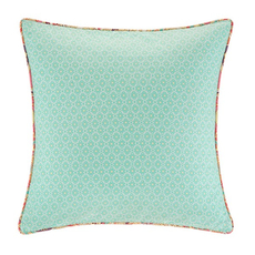 Echo Design Guinevere Square Pillow in Seafoam by JLA Home