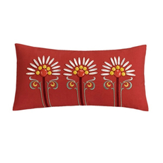Echo Design Jaipur Decorative Pillow in Red by JLA Home