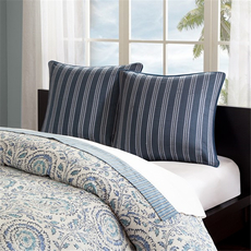 Echo Design Kamala Euro Sham in Blue by JLA Home