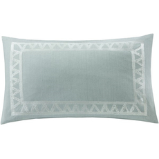 Echo Design Mykonos Oblong Pillow in Blue by JLA Home