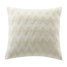 Echo Design Mykonos Square Pillow in White by JLA Home