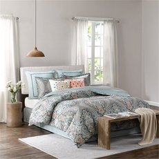 Echo Design Sterling Twin Comforter Set in Deep Green by JLA Home