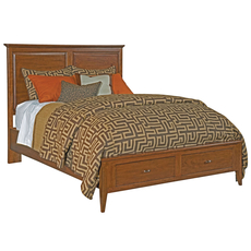 Kincaid Cherry Park Storage Panel Bed