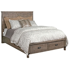Kincaid Foundry Panel Bed with Storage Footboard