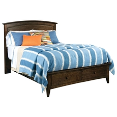 Kincaid Gatherings Arch Storage Bed in Molasses
