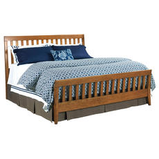 Kincaid Gatherings Slat Bed in Honey