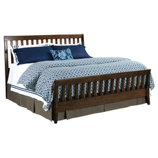 Kincaid Gatherings Slat Bed in Molasses