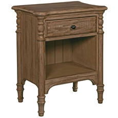 Kincaid Weatherford Open Nightstand in Heather