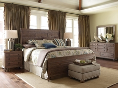 Kincaid Weatherford Shelter Bed in Heather