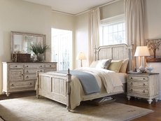 Kincaid Weatherford Westland Bed in Cornsilk