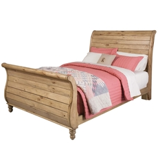 Kincaid Homecoming Vintage Pine Sleigh Bed