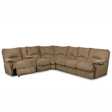 Lane Alpine Reclining Console Sectional - You Choose the Fabric