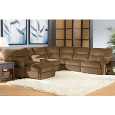 Lane Brandon 5 Seat Console Chaise Sectional - You Choose the Fabric