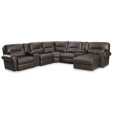 Lane Brandon 5 Seat 2 Console Chaise Sectional - You Choose the Fabric